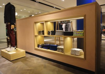 Smooth and polished clay finish, Paul Smith store in Manchester