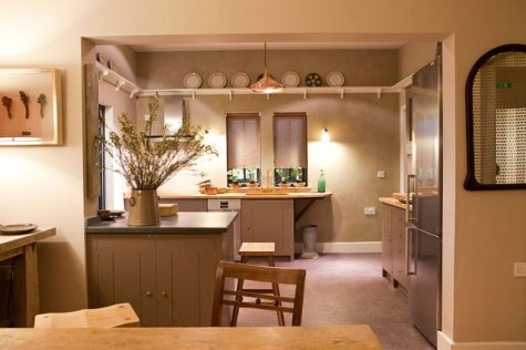Image of Smooth clay top coat, Prince's Arts & Crafts House, Ideal Home Show 2012