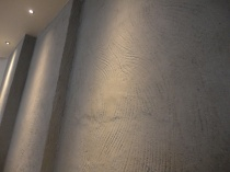 Handprint clay finish, Nando's restaurant in Sutton Coldfield