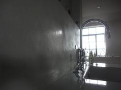Image of Tadelakt finish, private residence in Southwark, London