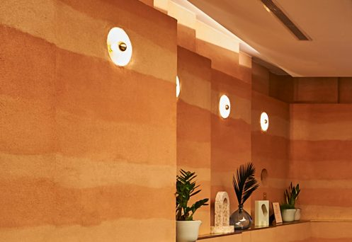 Rammed-earth-clay-plaster-finish-by-Guy-Valentine-Agora-Meeting-Room-design-by-Bompas-and-Parr