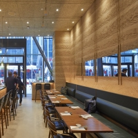 Rammed-earth-clay-plaster-finish-by-Guy-Valentine-Sticks-n-Sushi-Restaurant-in-London-design-by-Neri-and-Hu